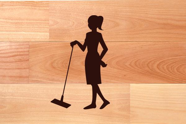 無垢フローリングを長持ちさせる普段の掃除方法とは?