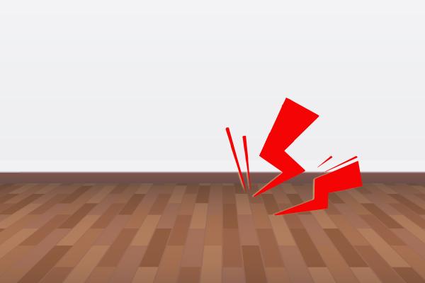 フローリングの「床鳴り」その原因と対処法とは?